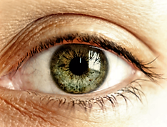 zelene oci